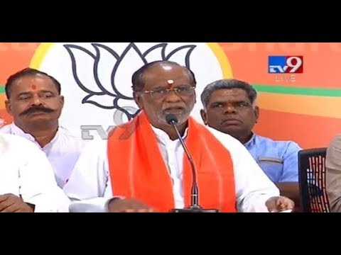 Telangana BJP President Laxman Press Conference || Live - TV9