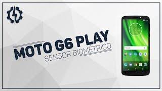 Moto G6 Play - Sensor Biométrico