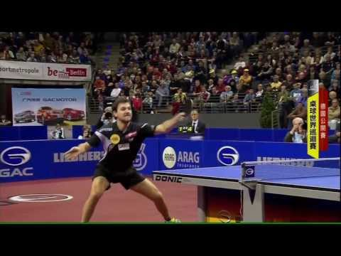 2013 German Open (ms-sf) BOLL Timo - OVTCHAROV Dimitrij [HD] [Full Match / Chinese]