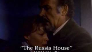 Sean Connery & Michelle Pfeiffer, The Russia House (Movie Trailer).