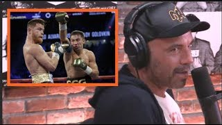 Joe Rogan Reacts to the Canelo vs. GGG Decision