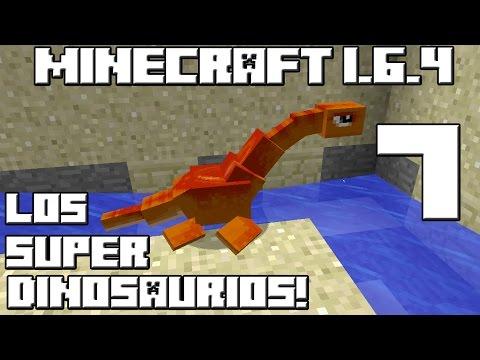 Minecraft Serie de Mods! LOS SUPER DINOSAURIOS! Cap.7