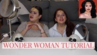 Wonder Woman Halloween Make-Up!! (Inspired by NikkieTutorials)