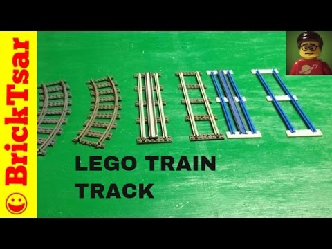 Lego Train Track Through the Years 4.5V 12V 9V and more 1966-present
