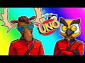 Uno Funny Moments - Team Canada Strikes Again!