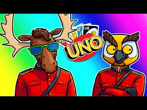 Uno Funny Moments - Team Canada Strikes Again!