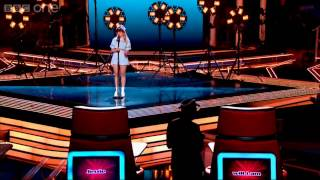 The Voice UK 2013 | Leah McFall performs 'I Will Survive' - The Live Quarter-Finals - BBC One
