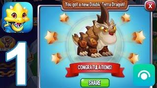 Dragon City - Gameplay Walkthrough Part 1 - Level 1-6 (iOS, Android)