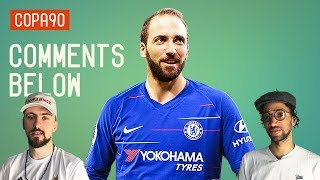 Could Higuain Be The Missing Piece for Sarriball at Chelsea?   Comments Below