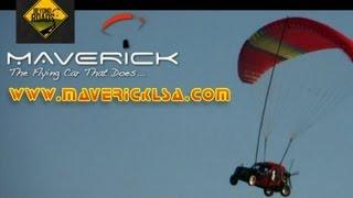 Maverick LSA, Maverick powered parachute, Maverick flying car, Maverick light sport aircraft.