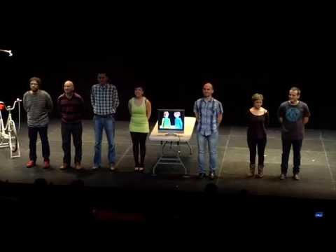 NUDISMO PARA INDECISOS comedia teatral Madrid