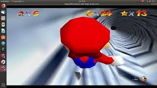 Super Mario 64-Estrella 14-Deslizamiento de Distancia- El Monte Nevado