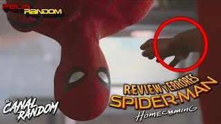 Errores de películas Spider-Man Homecoming Review Crítica y Resumen de Spiderman