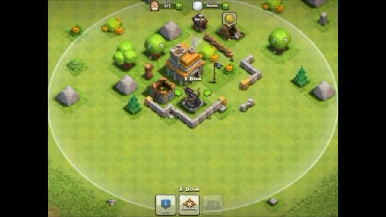 X Bow Clash Of Clans Clash of clans Xbow