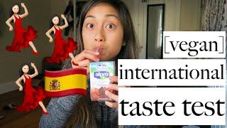 Download Lagu VEGAN INTERNATIONAL TASTE TEST | applesandamandas Gratis STAFABAND