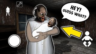 Baby Granny's CRAZY SECRET GAME!!! | Granny The Mobile Horror Game (Mods)