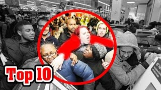 Top 10 Worst Black Friday Disasters