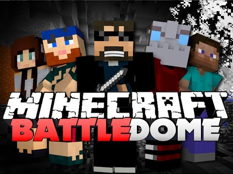 Minecraft Battle Dome  - SNEAK ATTACK FTW (w/ Nooch, Lancey, and Friends)