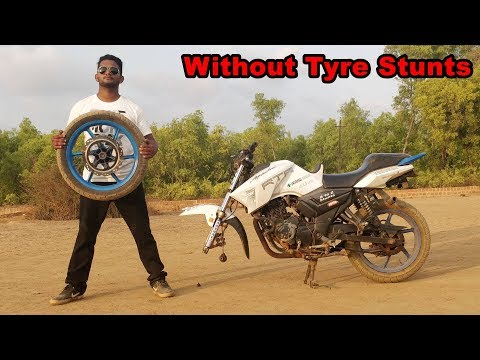 Stunning Stunts Without Front Tyre - Unbelievable