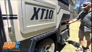 MDC XT-10 2-Berth & 4-Berth as seen on TV, Creek to Coast