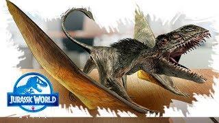 Диморфодон Новый птерозавр а Jurassic World Alive