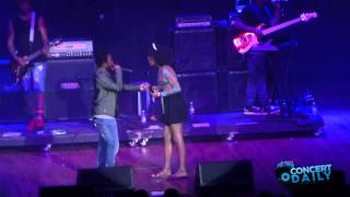 """Kendrick Lamar performs """"m.A.A.d City"""" with a fan live at Sweetlife Festival"""