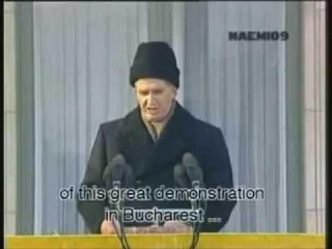 Последняя речь Николая Чаушеску, 1989