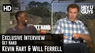 Will Ferrell and Kevin Hart Exclusive Interview - Get Hard