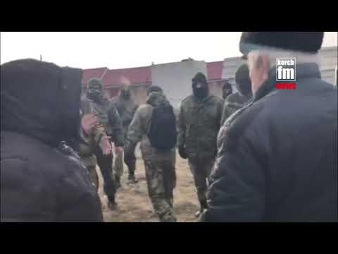 Жители Золотого кидаются под военные КАМАЗы из-за локатора