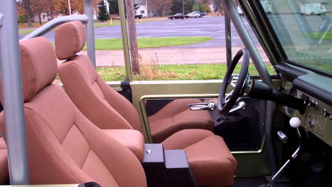 1971 Ford Bronco Interior 1966 Ford Bronco Interior