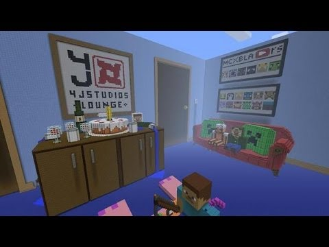Minecraft Xbox 360 4j Studios Lounge Hunger Games Youtube