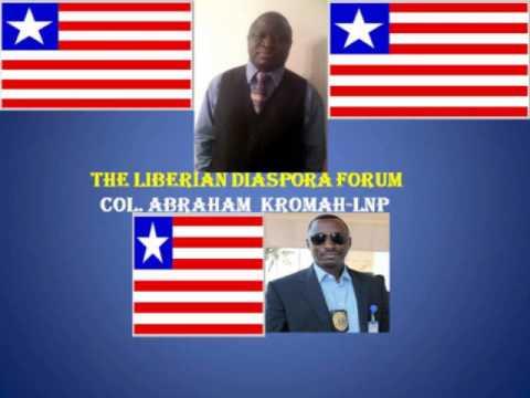 LIBERIAN DIASPORA FORUM with the Deputy Director of Police, Abraham Kromah