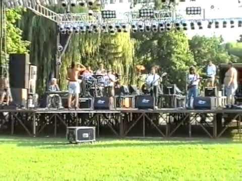 Reflex zenekar  visszatérő koncert 1997.08.12. Koncert technikai előkészülete és beállás