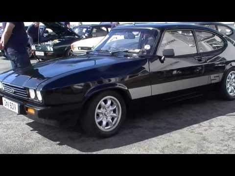 Ford Capri Ace Cafe 2013 a Coops Insurance recording