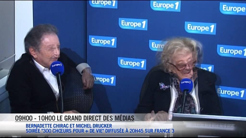 Bernadette chirac se mobilise pour les personnes g es youtube - Exoneration redevance tv personnes agees ...