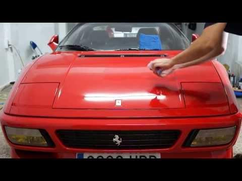 Aplicación CarPro Cquartz UK
