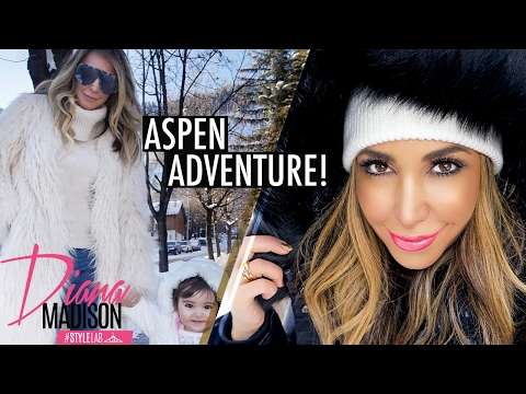 My Aspen Adventure Vlog | Best Fashion, Food and Fun Ideas for a Winter Getaway!