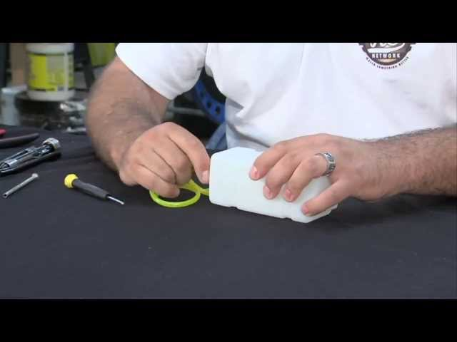 Radio Controlled (RC) Model Airplane - How to Plumb Your Gas Tank