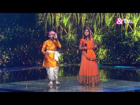 Vishwaprasad and Nishtha - Radha Kaise Na Jale - Liveshows - Episode 26 - The Voice India Kids