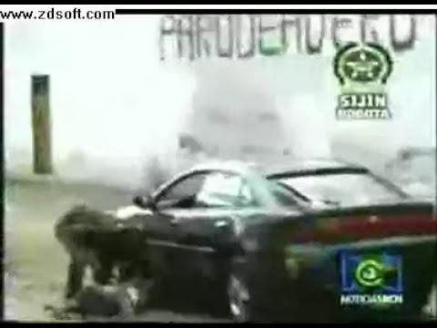 Impresionante video de un asalto frustrado.