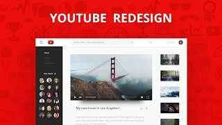 Speed Art - Youtube Redesign