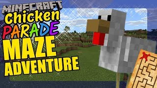 Minecraft Chickens Maze Adventure Educational Video for Kids