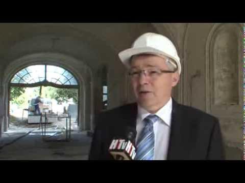 Félidejénél tart a hatvani Grassalkovich-kastély (MTM, Vadászati Múzeuma) felújítása