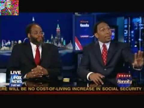 "Stephen A. Smith Talks Rush ""Racial Buffoonery"" On ""Hannity"""
