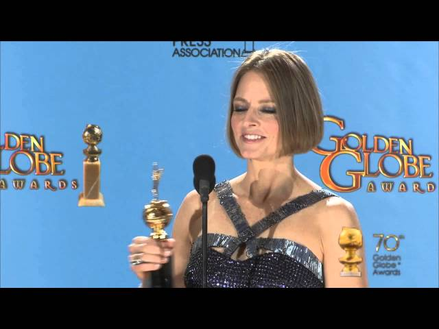 Backstage with Jodie Foster, Cecil B. de Mille Award