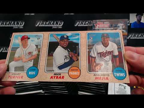 2017 Topps Heritage High Numbers Baseball Case PYT #1 ~ 9/17/17