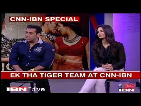 Salman khan Katrina kaif and Kabir khan talk about 'Ek Tha Tiger""