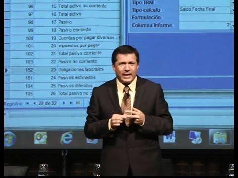 Curso práctico de NIC-NIIF y su aplicación en World Office - Parte 4