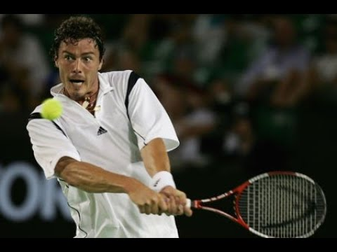 Safin vs Hrbaty Australian Open 05 QF HL's