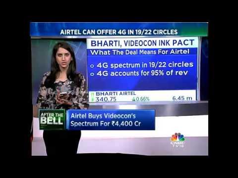 Bharti Airtel To Acquire Videocon Telecom For Rs 4,428 Cr